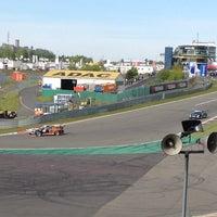 Photo taken at Nürburgring Mercedes-Tribüne by Mysterons on 5/17/2012