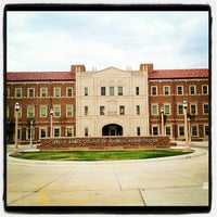 Photo taken at TTU - Rawls College of Business by Jon D. on 8/13/2012