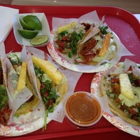 Photo taken at Tacos El Gordo by Daisy on 8/14/2012
