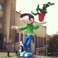 Photo taken at Belgian Comic Strip Center by JefLive on 9/2/2012