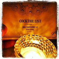 Photo taken at Experimental Cocktail Club by Fred m. on 6/2/2012