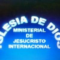 Photo taken at Iglesia Ministerial de Jesucristo Internacional by Lina S. on 9/10/2012