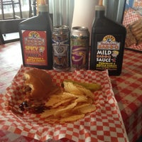 Photo taken at Dick's Bodacious BBQ by Tucker B. on 6/21/2012