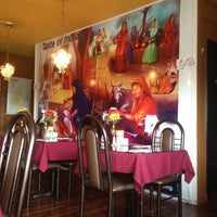 Photo taken at Taste of India by Christopher M. on 5/26/2012