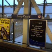 Photo taken at Surrey Central Station by Robbie G. on 4/11/2012