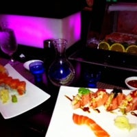 Photo taken at Xaga Sushi & Asian Fusion by Alexandra S. on 4/1/2012