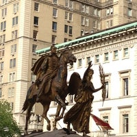 Photo taken at Grand Army Plaza by Mark S. on 5/12/2012