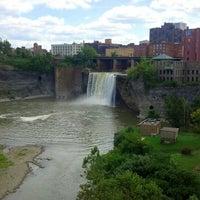 Photo taken at High Falls by KeGoMo on 8/18/2012