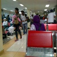 Photo taken at Bandara Syamsuddin Noor Airport by Putra K. on 5/4/2012