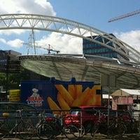 Photo taken at Station Rotterdam Blaak by Jan W. on 9/1/2012