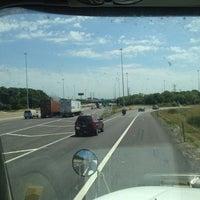 Photo taken at Stevenson Expressway (I-55) by Dominic I. on 7/11/2012