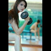 Photo taken at Cis Jamada Aerobic & Fitness Center by Kukuh W. on 3/14/2012