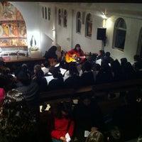 Photo taken at Parroquia Santa Rosa de Lo Barnechea by Pablo L. on 5/18/2012