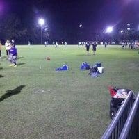 Photo taken at WAKA Kickball Field by Liz P. on 2/10/2012