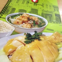 Photo taken at Kar Heong Chicken Rice by Cheryl P. on 7/8/2012
