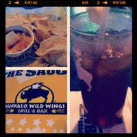 Photo taken at Buffalo Wild Wings by Aaron A. on 5/31/2012