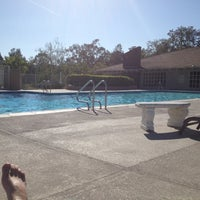 Photo taken at Laguna Village Clubhouse Pool by Adam D. on 6/5/2012
