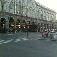 Photo taken at Torino Porta Nuova railway station (TPY) by Alessandro Z. on 7/27/2012