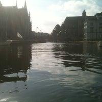 Photo taken at De Bootjes van Gent   Rederij Dewaele by Martijn R. on 2/25/2012