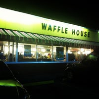 Photo taken at Waffle House by Tyler L. on 2/18/2012