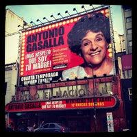 Photo taken at Teatro El Nacional by Américo N. on 5/8/2012