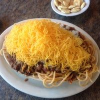 Photo taken at Skyline Chili by Jeff W. on 5/20/2012