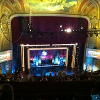 Photo taken at The Chicago Theatre by Ryan Y. on 6/12/2012