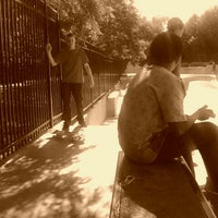 Photo taken at Lawton Skate Park by Tay M. on 6/8/2012