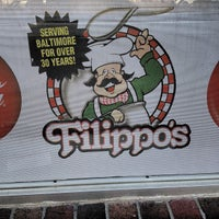 Photo taken at Filippo's Pizzeria by Frank R. on 4/4/2012