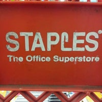 Photo taken at Staples by gab f. on 8/9/2012