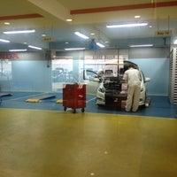 Photo taken at Honda Service Centre by Norzuliqa K. on 3/19/2012