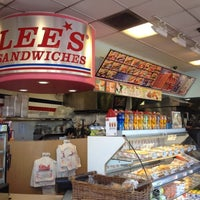 Photo taken at Lee's Sandwiches by Adrianne C. on 8/8/2012