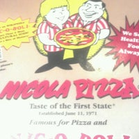 Photo taken at Nicola Pizza by NEIL S. on 7/18/2012