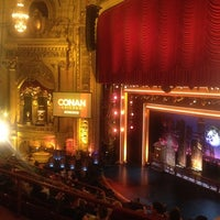 Photo taken at CONAN Chicago @ Chicago Theater by Alicia G. on 6/14/2012