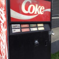 Photo taken at Mystery Soda Machine by Justin B. on 5/29/2012