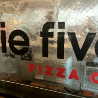 Photo taken at Pie Five Pizza Co. by Michael M. on 4/29/2012