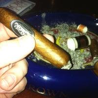 Photo taken at Buckhead Cigar Club by Rich M. on 5/1/2012