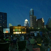 Photo taken at Auditorium Shores at Lady Bird Lake by B-ryant J. on 4/23/2012