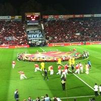 Photo taken at Bloomfield Stadium by Antonetta S. on 3/5/2012
