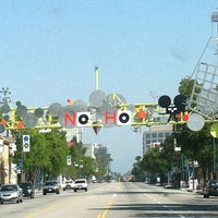 Photo taken at NoHo Sign by Zyderock on 5/5/2012
