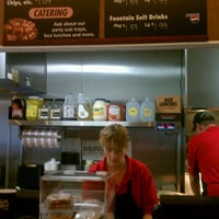 Photo taken at Penn Station East Coast Subs by DJ S. on 7/7/2012