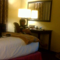 Photo taken at Holiday Inn Express & Suites Alexandria by Melinda T. on 3/25/2012