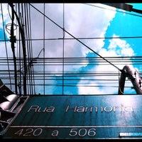 Photo taken at Rua Harmonia by Ale van Beeck on 2/28/2012
