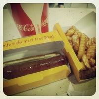 Photo taken at Nathan's Famous by Stephen F. on 4/7/2012