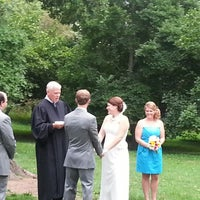 Photo taken at Olmsted Lodge at Highland Park by Ned S. on 8/10/2012