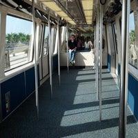 Photo taken at Tram To Gates 60-99 by Javier M. on 8/24/2012