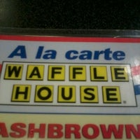 Photo taken at Waffle House by JaLonna M. on 6/8/2012