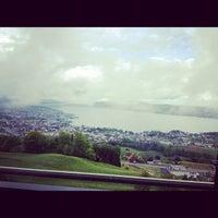 Photo taken at Panorama Resort Feusisberg by Zeno D. on 5/6/2012