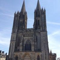 Photo taken at Cathédrale Notre-Dame de Coutances by Arnaud D. on 5/28/2012