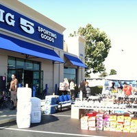 Photo taken at Big 5 Sporting Goods by Christina H. on 8/25/2012